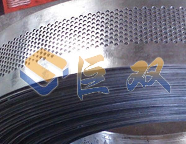 卷板冲孔网安装