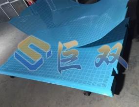 镀锌板爬架网生产