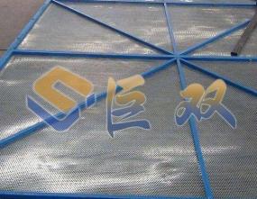河南铝板爬架网