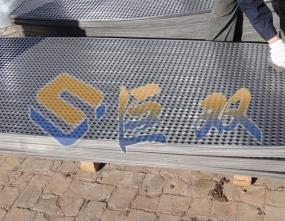 铝板冲孔网生产